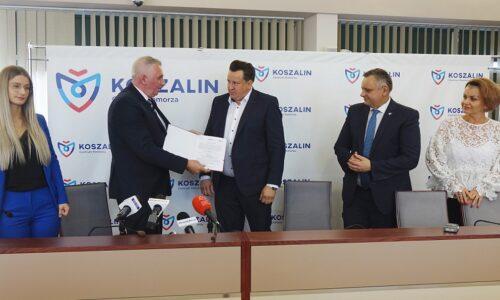 Firma Prokmet Sp. z o.o.  otrzymała wsparcie na działalność firmy z podmorskiej agencji rozwoju regionalnego w Słupsku